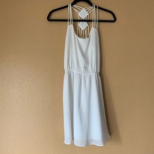Lost April White Dress - Small